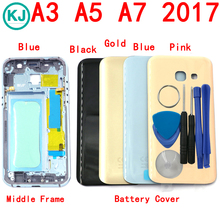 Rear A3 2017 Full Housing For Samsung Galaxy A320 A320F Battery Back Cover Front Middle Frame Bezel