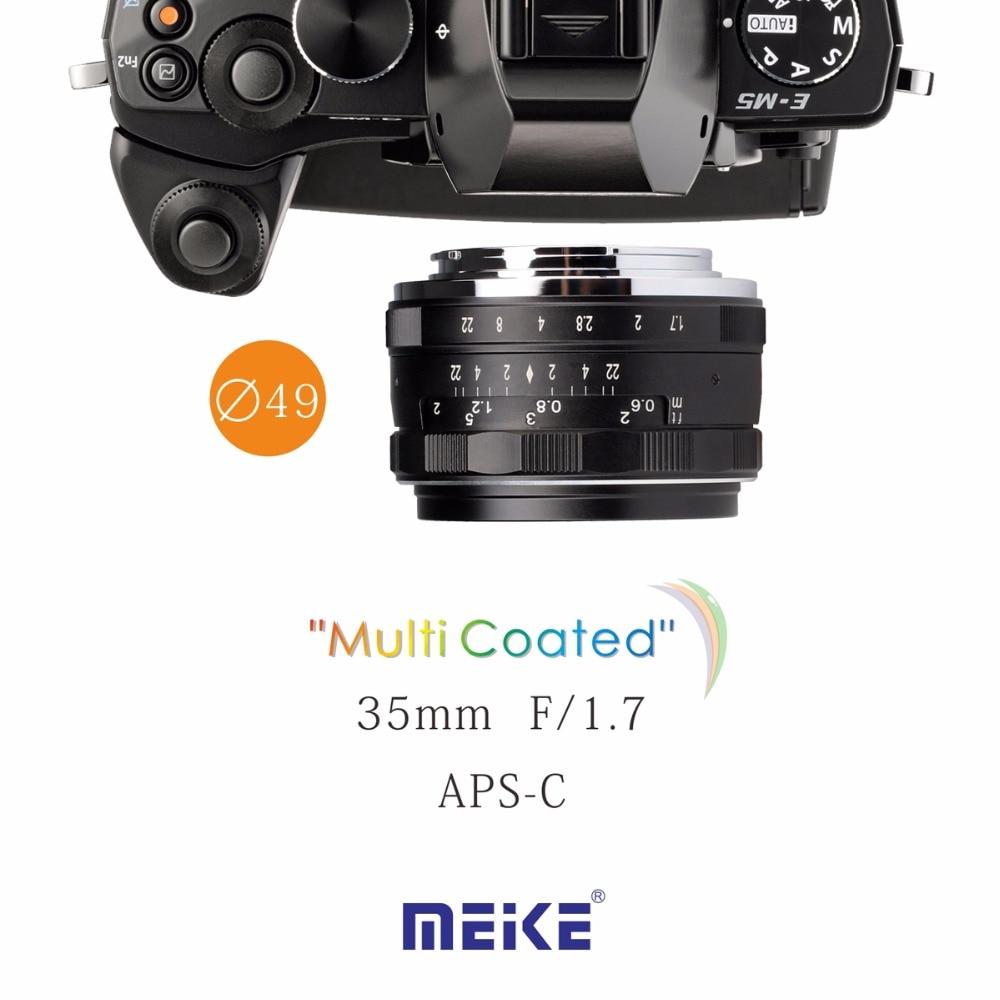 Meike MK-4/3--35-1.7 35mm f1.7 Large Aperture Manual Focus lens M4/3 for MTF system Olympus Panasonic 35 35 3