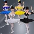 Crianças Ballet Dança Saia Crianças Ballet Tutu Vestido de Cisne Menina Traje de Balé Para Crianças Dança Traje Do Estágio Profissional 89