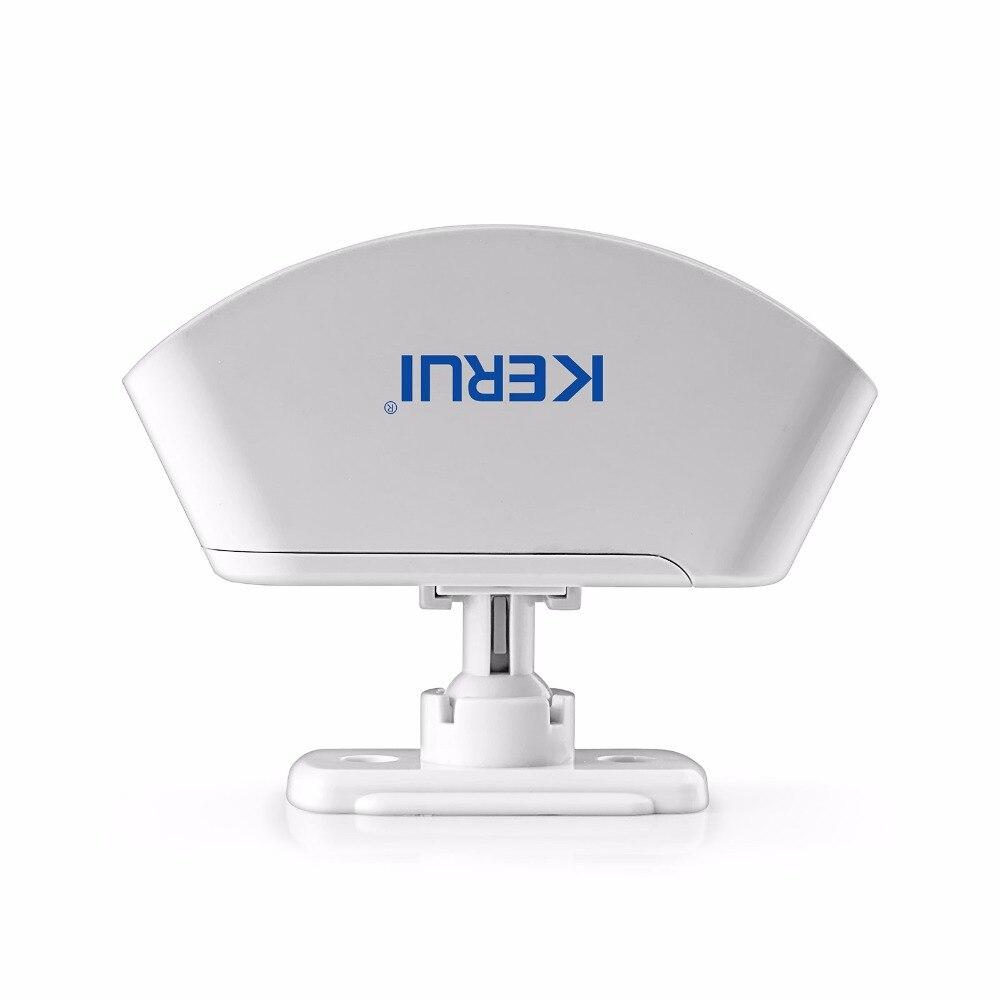 KERUI P817 Drahtlose Infrarot Detektor Vorhang Sensor PIR Detektor Einbrecher Alarm System Motion Detektor Für KERUI Alarm System