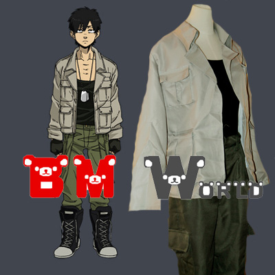 Anime Manga GANGSTA Nicolas Brown Young Cosplay Costume Cos Whole Set Custom Made Free Shipping