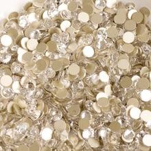 #2058HF SS16 Clear Crystal FlatBack Rhinestones No HotFix Strass Stones