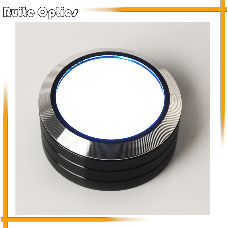 Portable Desktop HD 6x Optical LED Illumination Reading Identifying Magnifier Magnifying Glass with LED Lights