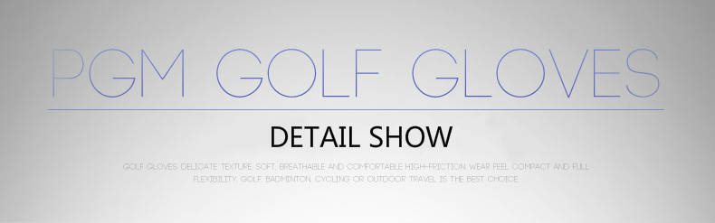 Grânulos resistentes slip-luvas de golfe das mulheres