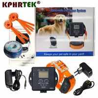 IN de Grond Electronic Fence Systeem X800 Volledige waterdichte Oplaadbare Kraag voor Hond Rijden Zwemmen Training Kraag 27g9