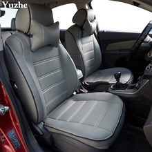 Yuzhe (2 Front seats) Auto automobiles car seat cover For Mitsubishi Lancer Outlander Pajero Eclipse asx car accessories styling