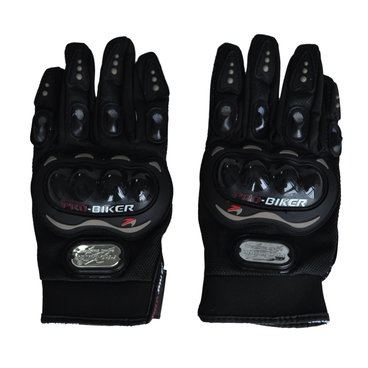 Unisex Touch Screen Fleece Thermal Winter Warm Gloves for Outdoor Cycling Skiing Hiking Black (M Size)