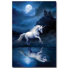 Pegasus Unicorn Horse Poster