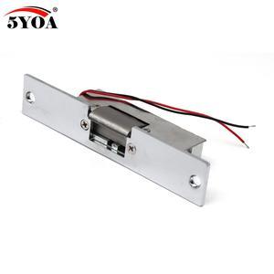 Image 2 - Контроль доступа, 12 В постоянного тока, с защитой от неисправности, узкий дверной электрический замок для блокировки питания