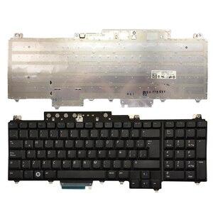 Латинская Клавиатура для ноутбука Dell Inspiron 1720 1721 Vostro 1700 XPS M1720 M1730 LA черная клавиатура