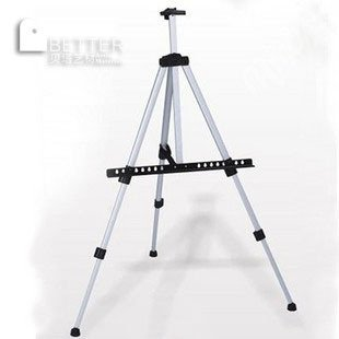 Freeshipping,Good quality,  silvery professional Aluminium  EaselFreeshipping,Good quality,  silvery professional Aluminium  Easel