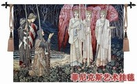 Belgium Tapestry European Holy Grail Series Mission Accomplished Big 140 100 Fabric Picture Decoration Home Textile