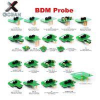 Newest BDM Adapters 22pcs/set KTAG KESS KTM Dimsport BDM Probe Adapters LED BDM Frame Adapter for ECU Programmer