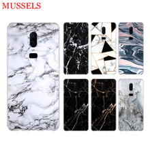White Marble Leaves Phone Back Case for OnePlus 7 Pro 6 6T 5 5T 3 3T 7Pro Art Gift Patterned Customized Cases Cover Coque Capa