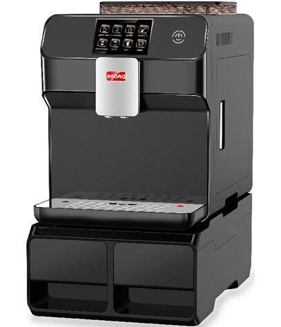 Полностью автоматический один сенсорный экран cappucinno, латте, кофе Эспрессо машина/кафе машина может быть подключен к водопроводу