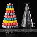 Novo estilo pode liberar combinação 10 camada acrílico torre macaron Display stand ou festa de casamento sobremesa Display frete grátis