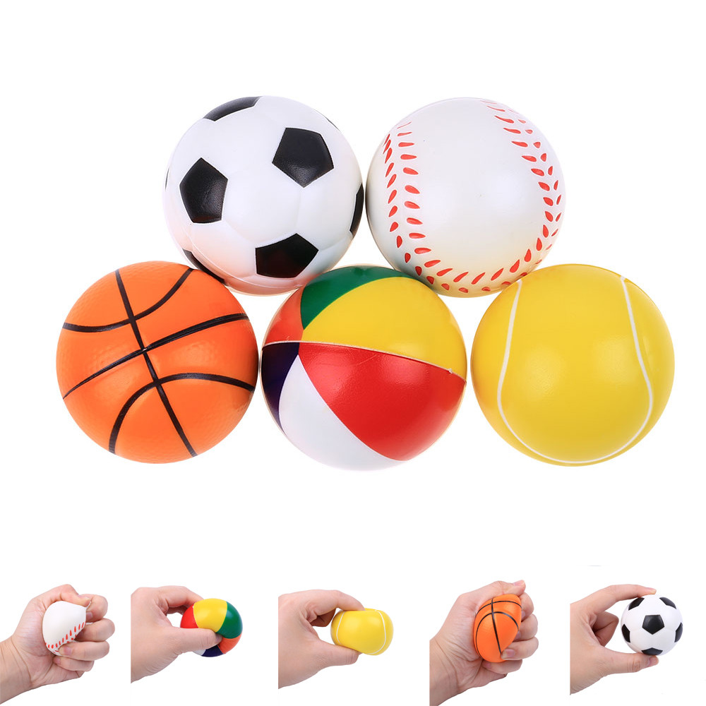 Original Kawaii Cute Slow Rising Lovely Present Ball Baseball Basketball Rising Kids Skuishy Toys Gift Toys Dropshopper