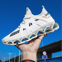 Men Running Shoes Women Air Spring Blade Sneakers Sport Air Cushion Light Weight Breathable Fashion Cushioning Outdoor Sneaker