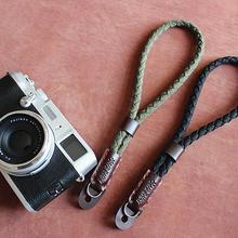 Foleto New fashion Vintage canvas PU Leather Organization Camera hand