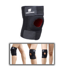 LUCKSTONE Professional Knee Pad Adjustable Open Patella Leg Support Basketball Soccer Hiking Running Brace Wrap Protector Pad(China)