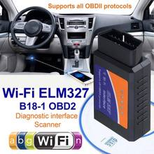 цены на OBD2 WIFI ELM327 Bluetooth Car Scanner Auto Code Reader Android iOS Torque Auto Scan Diagnostic Tool Universal OBDII Car Scanner  в интернет-магазинах