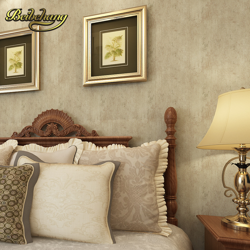 beibehang wall paper Puna American country mottled retro background wallpaper living room non-woven wallpaper bedroom solid цены