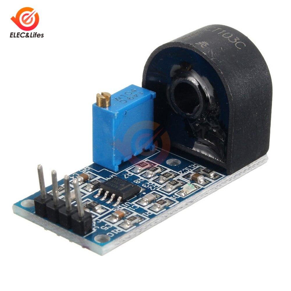 5A Range Single-phase AC Active Output Current Transformer Module Current Sensor Module Precision Operational Amplifier Circuit