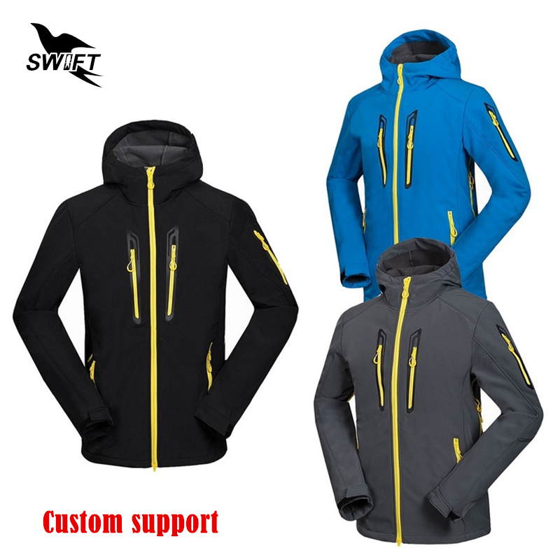Custom Waterproof Windproof Hiking Clothing Tech Fleece Thermal Softshell Jacket Men Ski Climbing Fishing Clothes Hunting Suit стоимость