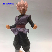 Dragon Ball Z Action Figures Goku Black Pink Hair Figurine PVC Man Gift For Birthday Toys For Children Kids Gift Doll Model XP