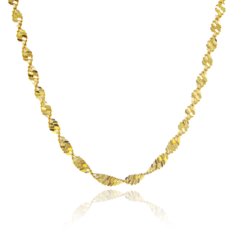 2017 New Fashion Design Fashion Women Cool Spiral Jewelry Necklace ...
