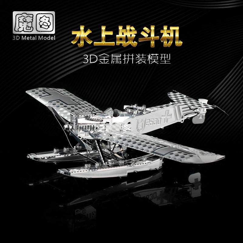 Nanyuan 3D Metal Puzzle Hansa Brandeburg W29 - ფაზლები - ფოტო 3