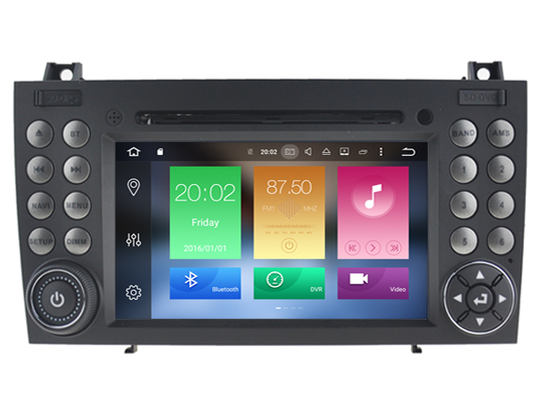 Android 8 0 CAR Audio DVD player FOR BENZ SLK280 SLK300 SLK320 SLK350 etc gps Multimedia