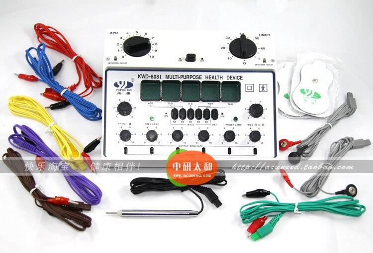 الكهربائية جهاز وخز بالإبر إبرة مشجعا KWD 808 II 6 قناة مخرجات الألم الإغاثة العضلات مشجعا-في التدليك والاسترخاء من الجمال والصحة على  مجموعة 2