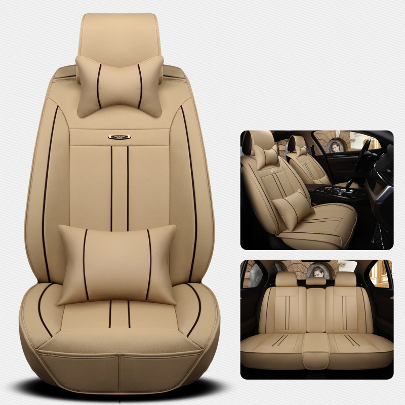 Car Seat Cover Auto Seats Covers Leather For Acura TL Rl