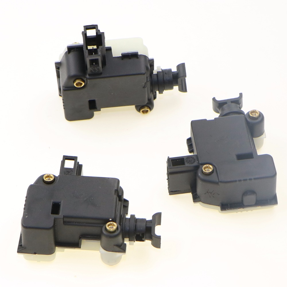 3Pcs Car Bootlid Trunk Lid Electron Lock Servo Motor For VW Polo Passat B5 Jeeta Golf MK4 Touareg Beetle 3B0 959 781 3B0959781C