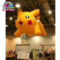 Helium inflatable ballon pikachu of pokemon for indoor advertising