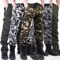 2016 Nuevos Hombres Pantalones Tácticos Militares de Los Hombres del Hombre de Camuflaje de Carga Masculinos pantalones Overoles Pantalones Casuales 4 Color Plus de Gran Tamaño 40