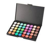 40 Colors/Set Women Facial Cosmetics Makeup Natural Matte Eyeshadow Palette Personal Brighten Waterproof fast dry no smudge Tool Eyeshadow
