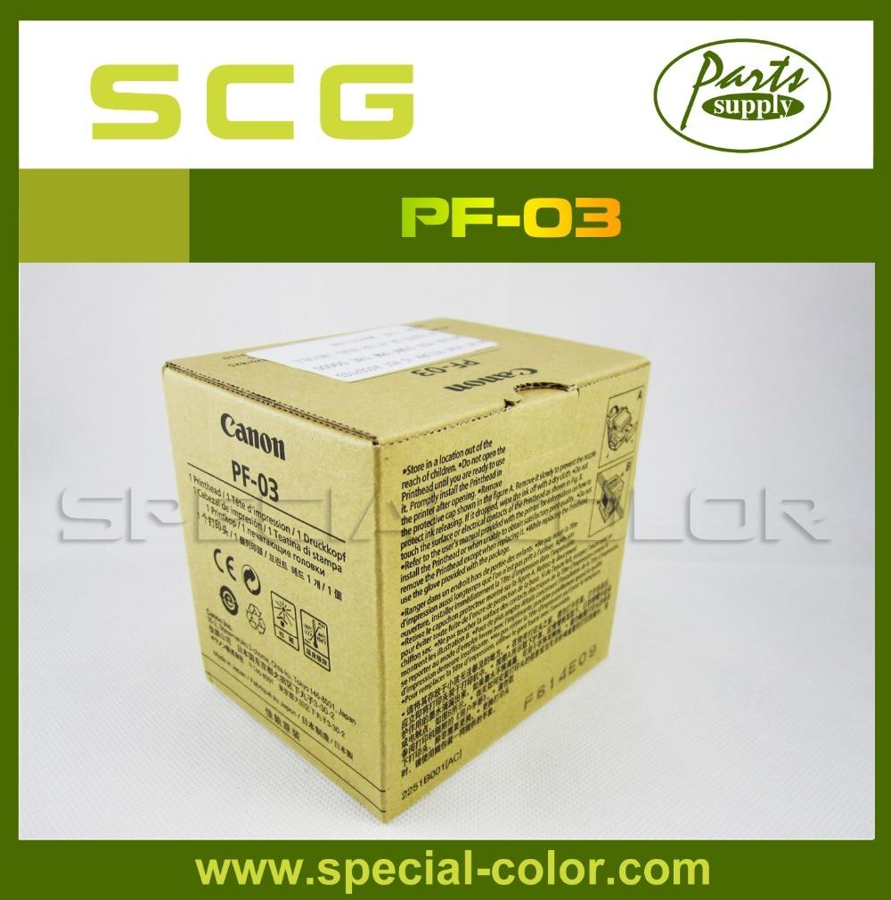 100% New Original Print Head for Canon PF-03 IPF8000/8000s/9000/9000s/8100/9100 original new printhead pf 03 for canon ipf 5000 6000 5100 6100 8010s 8000 8000s 700 710 610 600 9010s 9110 9000s printer head