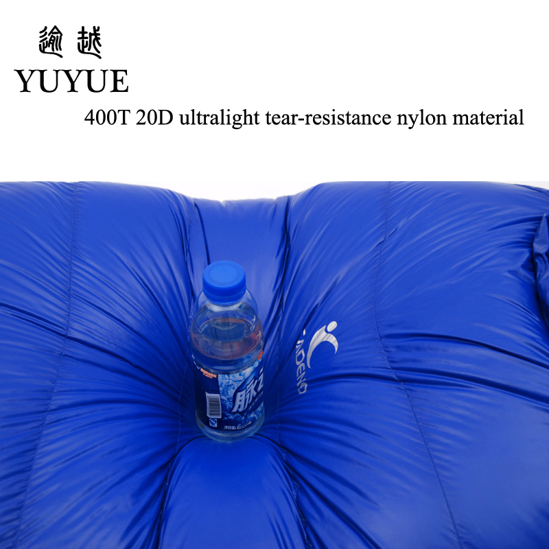 2000g Adult Mummy Sleeping Bag Down Winter For Camping Equipment Tent Waterproof Teaproof Nylon Sleeping Bags For Lovers Air Bed 3