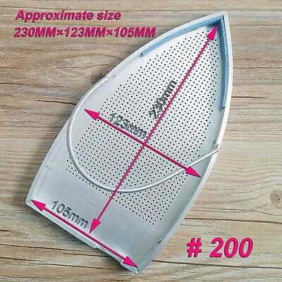 1pc New PTFE Aluminium fait industriel fer Plaque Couverture Chaussure 230*123mm #200