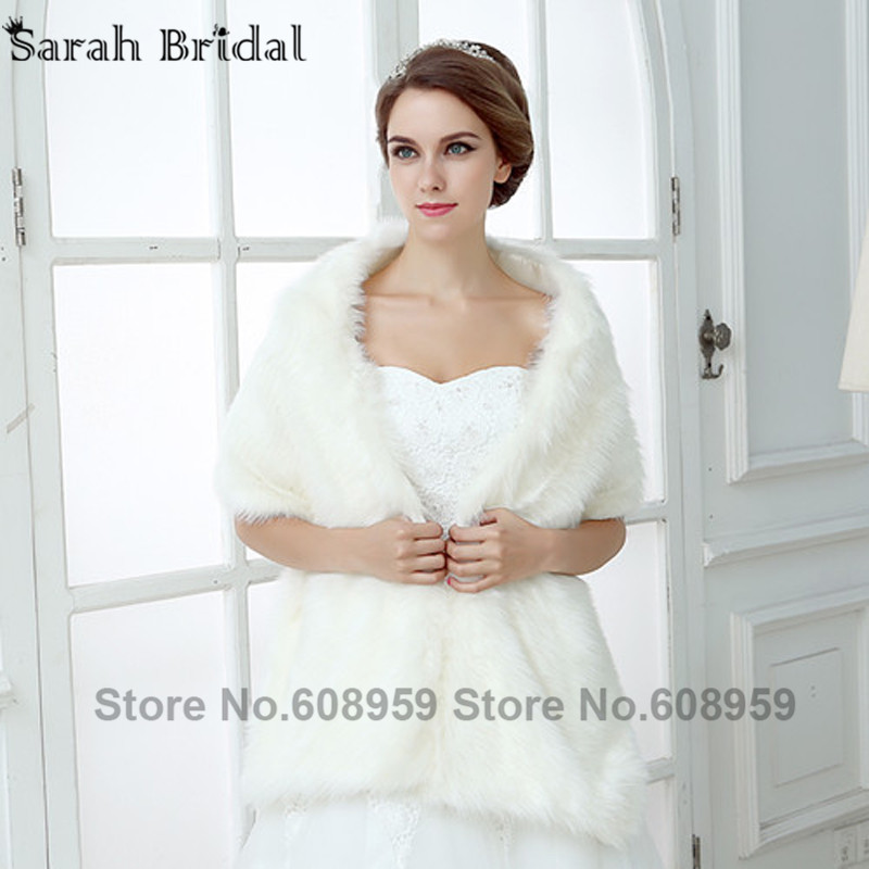 chaqueta blanca de la boda de invierno al por mayor de alta calidad ...