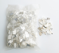 Heating film connection Clips X 100 pieces/lot used for far infrared heating film, Clips for connect cable and heating film