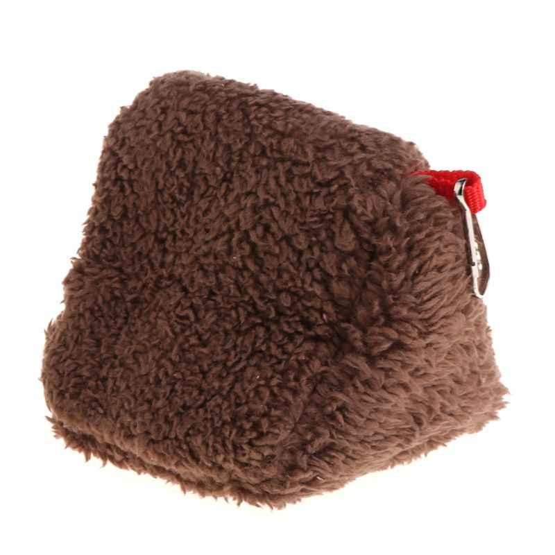 Хомяк гнездо спальная кровать подвесная клетка флис водонепроницаемый теплый зимний гамак качели игрушки многофункциональный для маленьких домашних животных белка