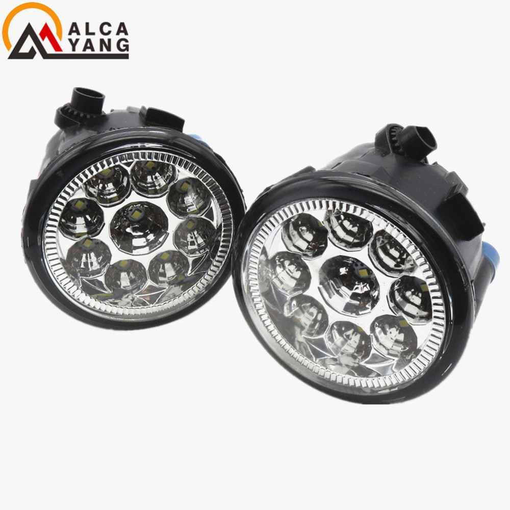 Malcayang eagle eye Car-Styling Led Light-Emitting Diodes DRL Fog Lamps For NISSAN X-Trail T31 2007-2014 pro legend автомобильное зарядное устройство pro legend 2 usb 2а