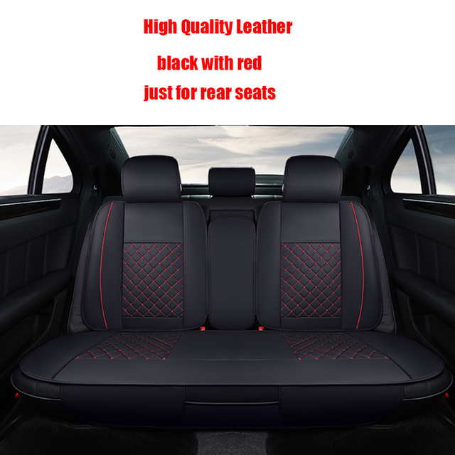 4 pcs Leather car seat covers For Skoda Octavia 2 a7 a5 Fabia Superb Rapid Yeti Spaceback Joyste car accessories styling