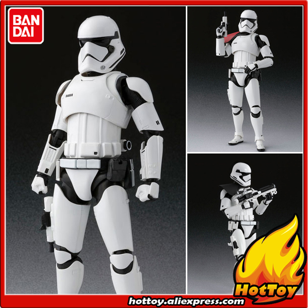 100% Original BANDAI Tamashii Nations S.H.Figuarts SHF Action Figure - First Order Stormtrooper from