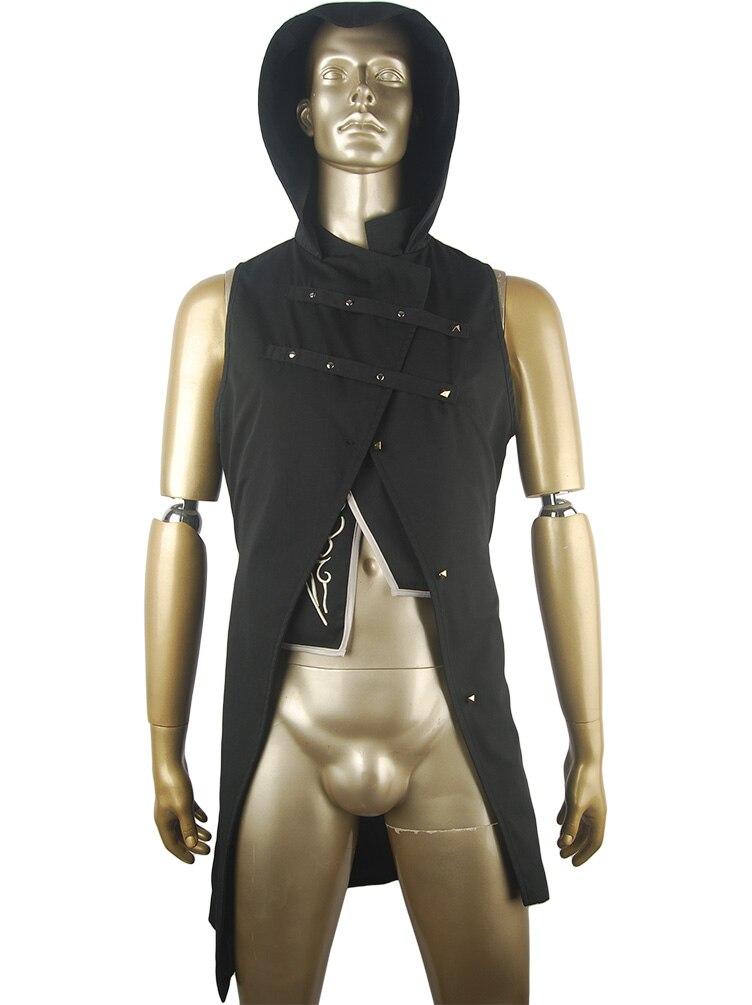Dishonored 2 Corvo Attano Bodyguard Costume Hoodie Jacket Vest Halloweeen Cosplay Costume Christmas Xmas Gift Comic-co Outfit