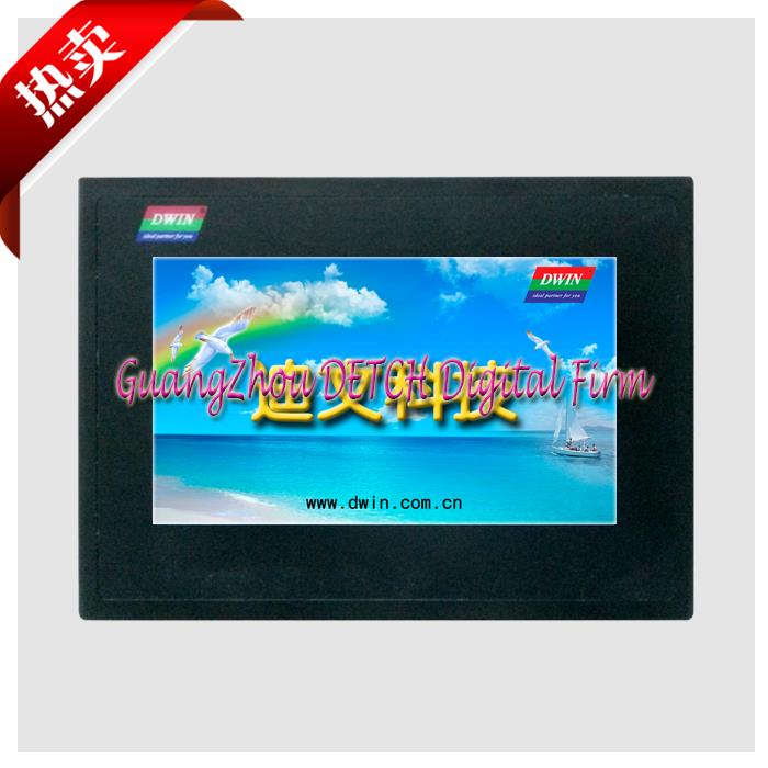 ФОТО DMT80480T070_15WT 7 Inch Touch Screen industrial Devin serial screen HMI HMI configuration screen