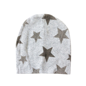 Baby Hat Cotton Printing Caps For Baby Boy Girl Infant Beanie Hat Spring Autumn Winter Children's Hats Caps Star Heart Dot 1